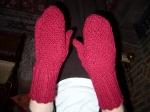 Xmas mittens for Mum 09
