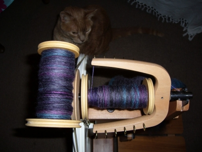 LGJ Merino Take Me Out - on the bobbins