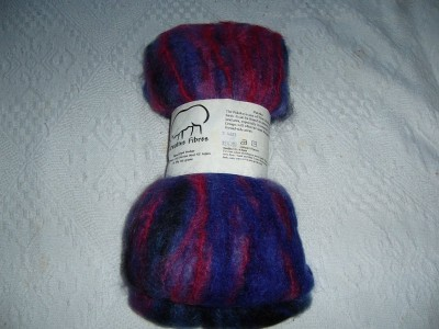 Creative Fibres Hand Dyed Mohair in Pukeko