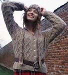 Lichen cardigan © Rowan Knitting & Crochet Magazine