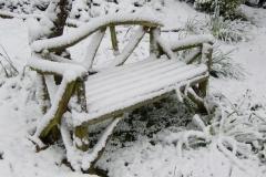 Snow: April 2008